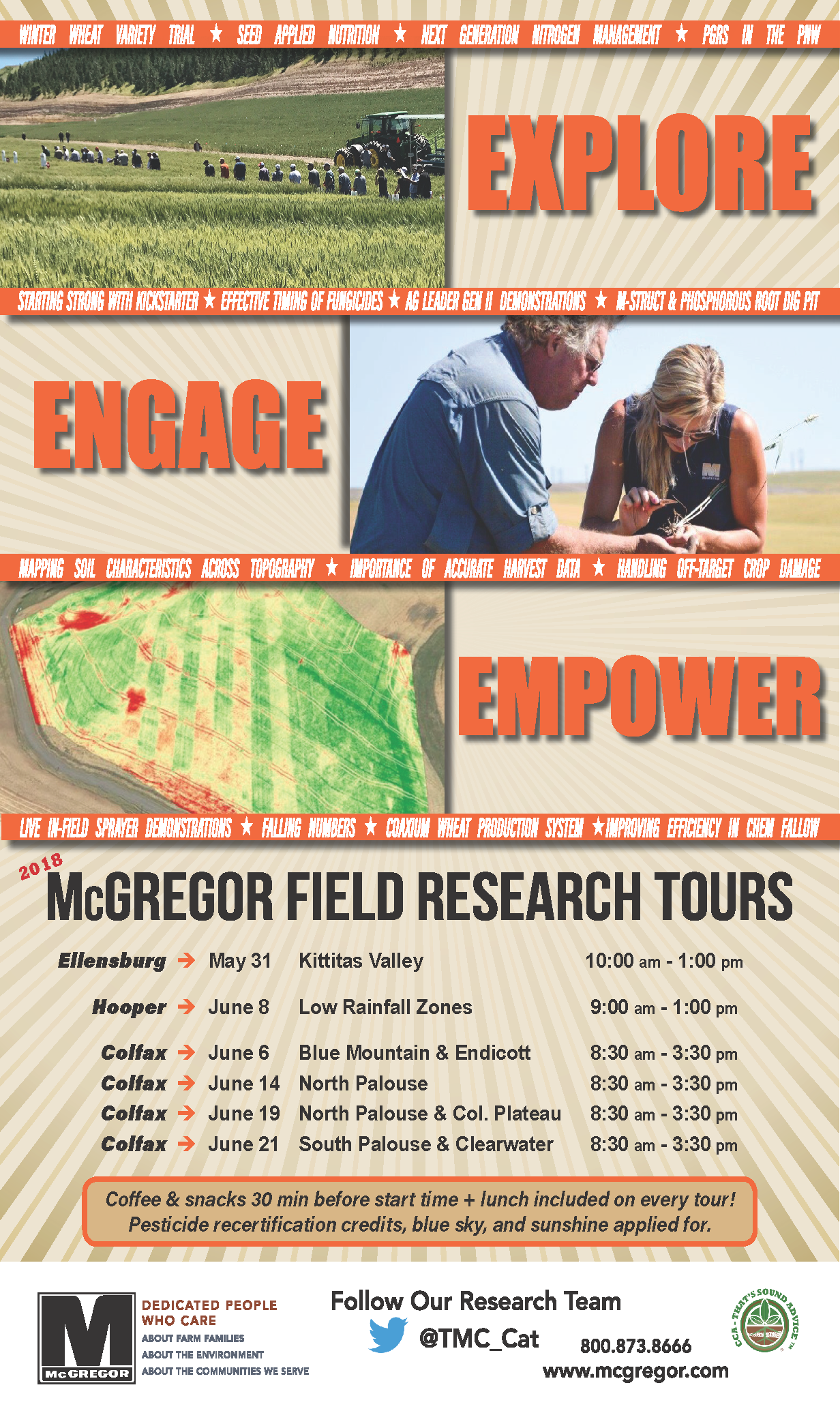 2018 Research Field Tours» The McGregor Company